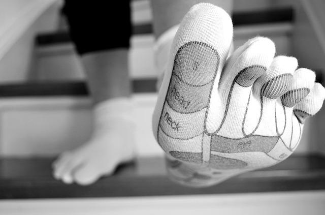 Prstové ponožky – výhody a nevýhody
